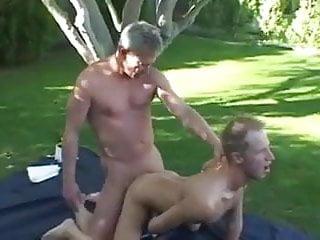 Father son picnic...