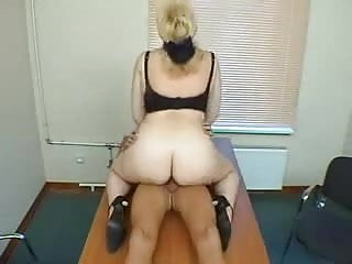 Big Tit Mature Gets Fucked at the Office