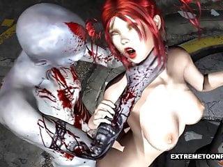 human fucks pussy Zombie teen