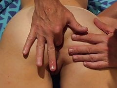 Wifes Mesmerising Asshole Lubed Finger, Pawed And Fucked