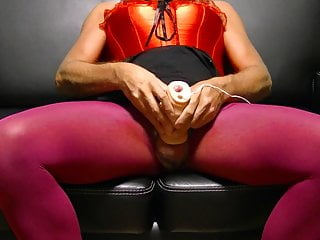 Masturbator with vibrations for ejaculation 2