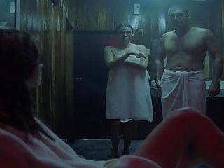 Sauna celebrity...