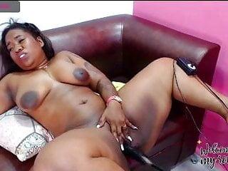 BBW Colombian bitch