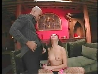 Anal asian in fishnet gets coochie creamed...