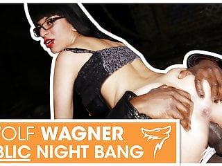 Emo girl Zeyna gets pounded outside at night! wolfwagner.com
