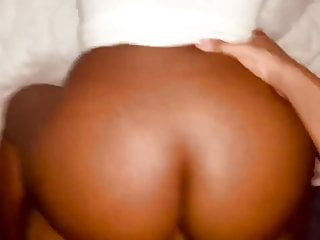 Brown babe booty pounded...