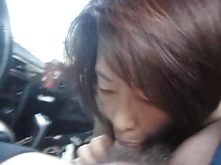 Mature Asian Car Bj