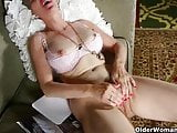 Nylon sends mom into a masturbation frenzy