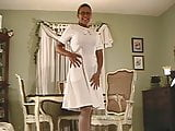 Nylon Milf Michelle in Stockings and Pantyhose 1