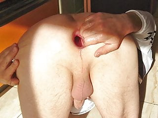 in fist holiday gape games Anal and