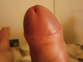 Foreskin Pulled back revealing big fat head