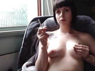 Smoking beauty...