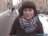 Real casting amateur filmed on sextape