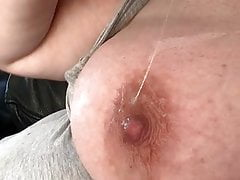 mommy's big hanging saggy heavy milky titties, BBW pussy juice