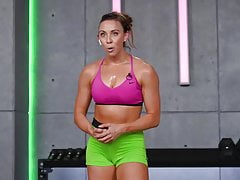 Workout Gym Cameltoe Camel toe lips tight shorts leggings