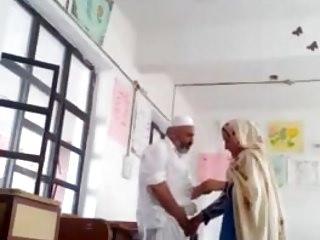 Indian principal fuck trainer at school room MMS paki feeble chubby