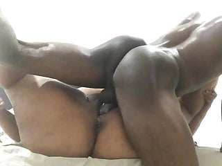 Fat by hard black long cock...