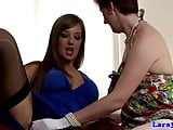 Euro matures in stockings lez foreplay