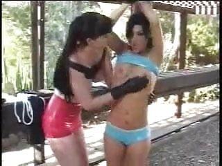 Lesbian Labia Punishment