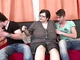 Awesome MILFs seducing teen boys