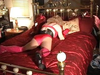 Tranny on bed