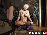 Krakenhot  Great Blowjob and huge cum with Estefani Tarrago