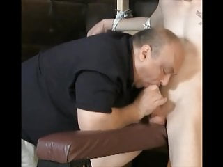 fat daddy gives good head