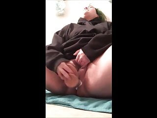 Slutty BBW plays with her pussy before getting fucked