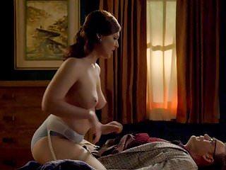 Erin cummings nude scene in masters of sex...