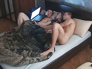 Adult Amateur Mmf Threesome Movie