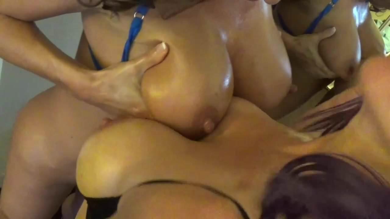 Japanese Huge Tits Gangbang