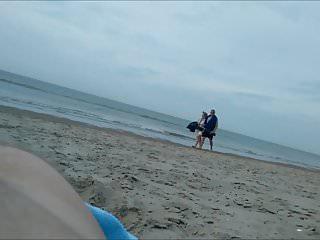 My tiny dick on the nude beach...