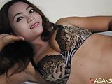 ASIANSEXDIARY Thick Hairy Pussy Swallows Up Big Dick