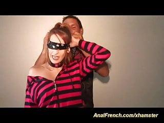 French teen loves penetration...