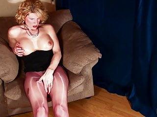 Shiny pantyhose 2...