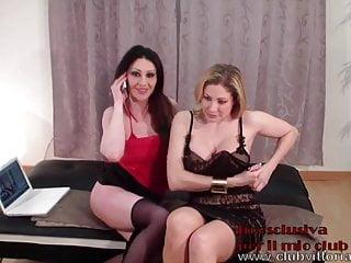 Lesbo Show Vittoria Risi e Laura Perego
