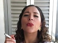 me, Marcela ...I love smoking for you