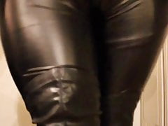 Femalemasker teasing and rubbing herself