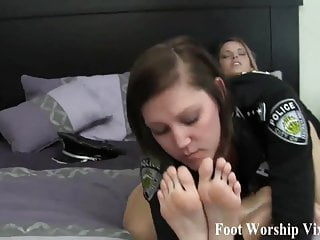 I love when she worships and pampers my feet