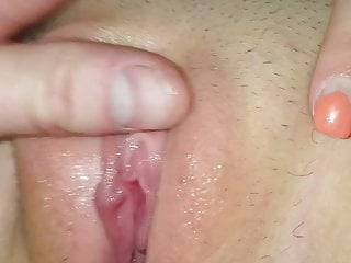 Stuffed dirty panties and creampied young cunt...