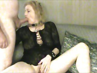 Face fuck while masturbating