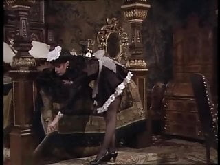 Vikki Michelle satin French Maid