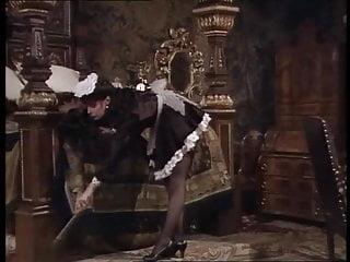 Vikki Michelle satin French Maid